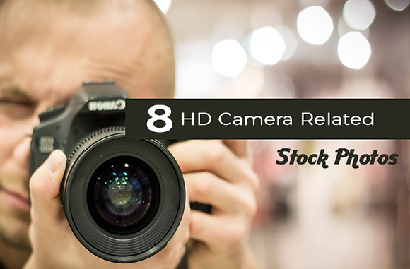 8 HD Camera Related Stock Photos
