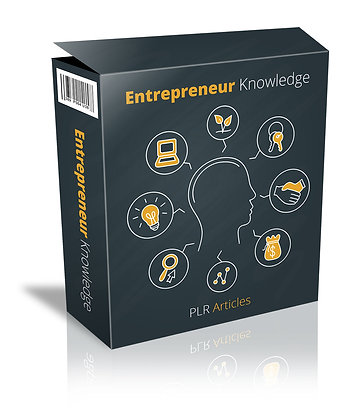 Entrepreneur Knowledge PLR Articles