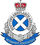 Scottish Ambulance Service Retirement Association badge