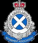 Scottish Ambulance Service Retirement Association badge