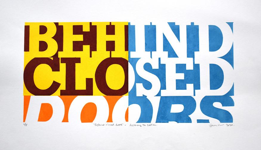 """""""Behind Closed Doors"""""""