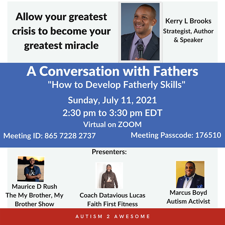 A Conversation With Fathers on  Autism