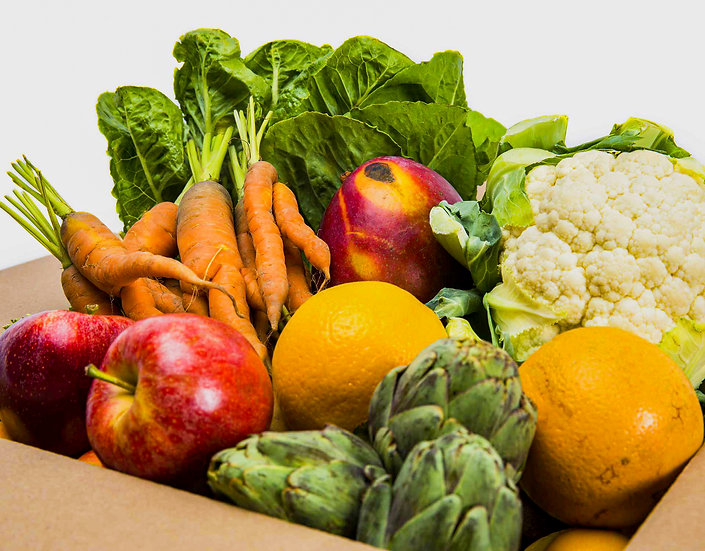 Organic Fruit and Veg box  3-4 Kg  from £15.99