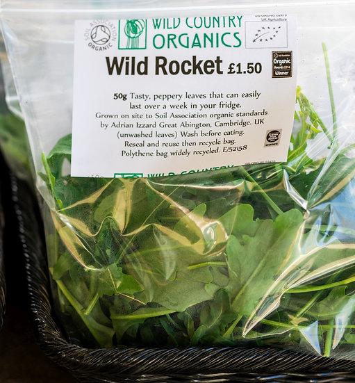 Organic Wild Rocket 50g loose