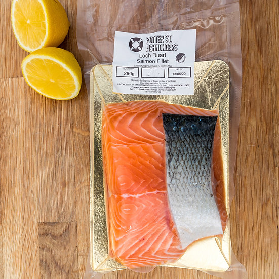 Fresh salmon approx 250g