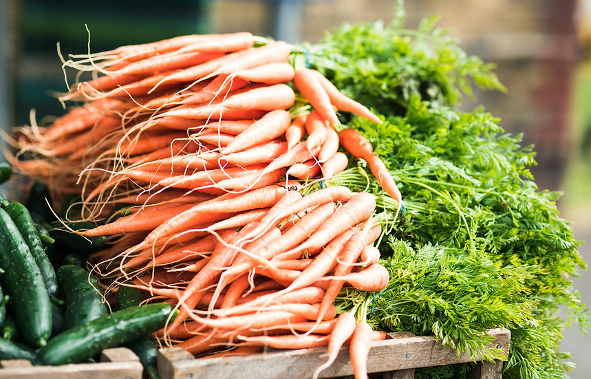 CARROTS - Grove farm -  bunch