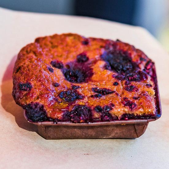 Peanut butter cake - vegan & gluten free
