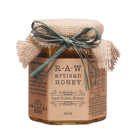 Raw Pollen Honey 220g