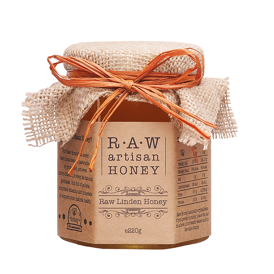 Raw Linden (Lime Blossom) Honey   - 220g