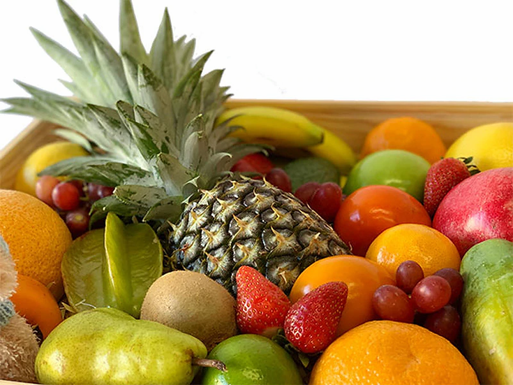 Organic Family Fruit Box  3-4Kg