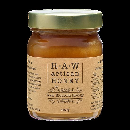 Raw Greek Blossom Honey 450g