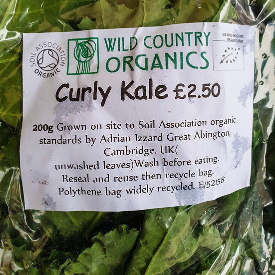 Curly Kale 200g