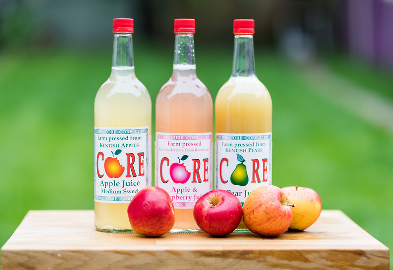 CORE FRUIT  - APPLE AND RASPBERRY 1L