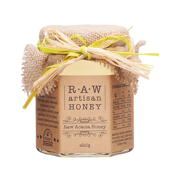Raw Acacia Honey  - 220g