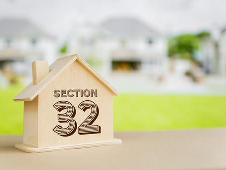 "Vendor statement ""Section 32 statement"""