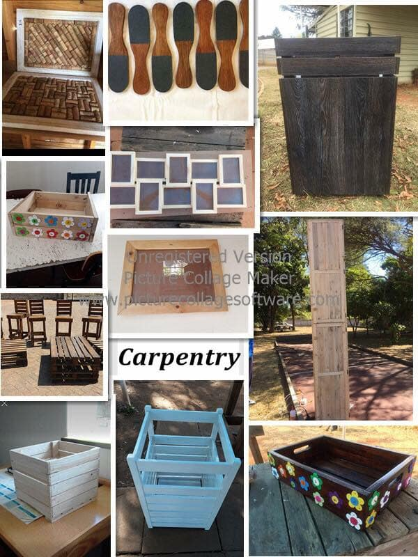 Carpentry goods for sale