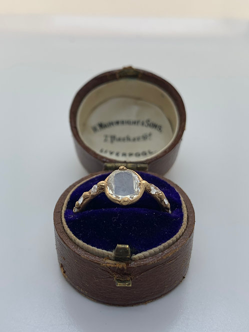 Audrey Ring - 1 ct certified GIA