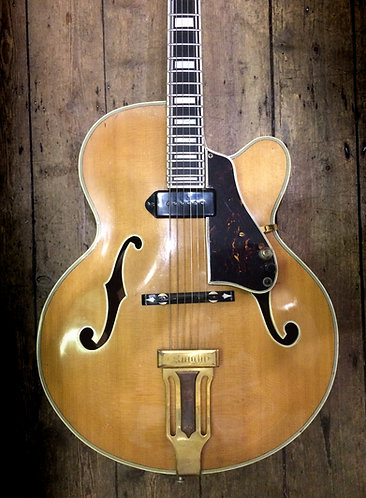 1970's Knight L5 Custom Archtop Natural finish