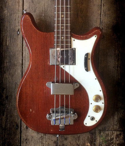 1965 Epiphone Newport Bass Cherry finish