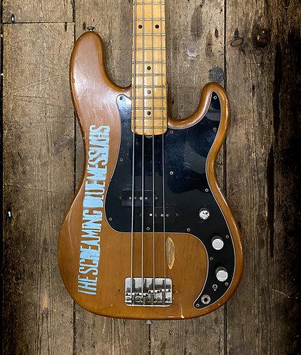 1975 Fender P Bass Mocha