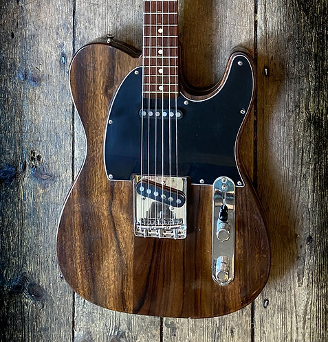 Custom made by Philippe Dubreuille Rosewood Tele