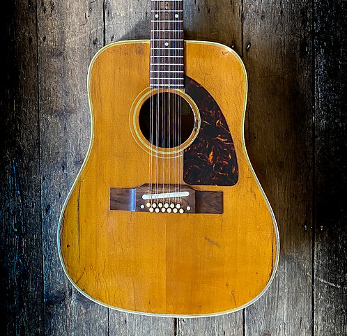 1963 Epiphone FT 12 String Acoustic in Natural finish