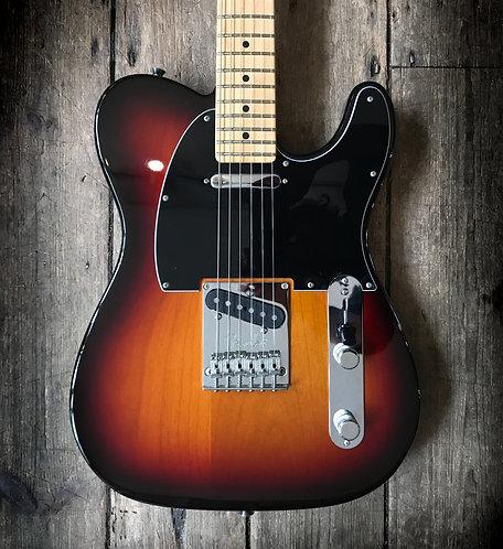 2016 Fender American Standard Telecaster in 3 tone Sunburst