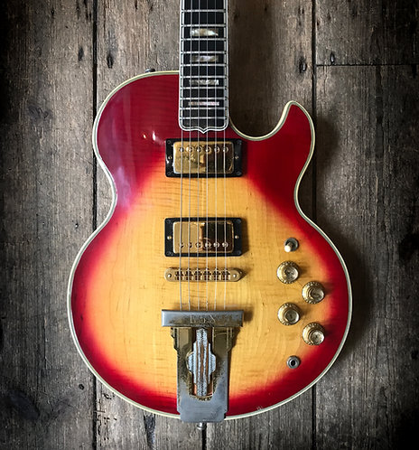 1976 Gibson L5S HB in cherry sunburst finish