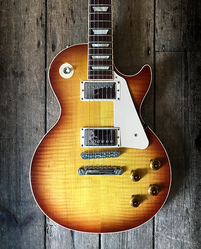 2010 Gibson Les Paul Standard Ice Tea Plain Top
