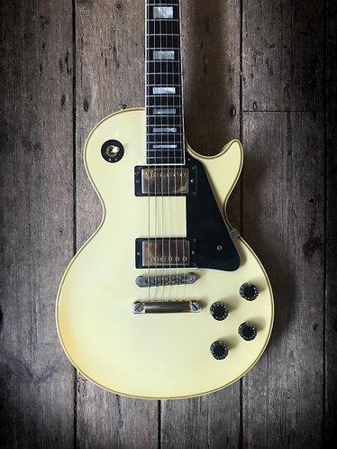 2001 Gibson Les Paul Custom Yamano in Arctic White