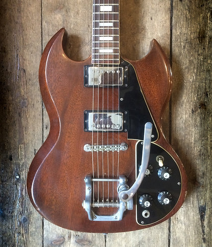1974 Gibson SG Standard with Gibson Bigsby
