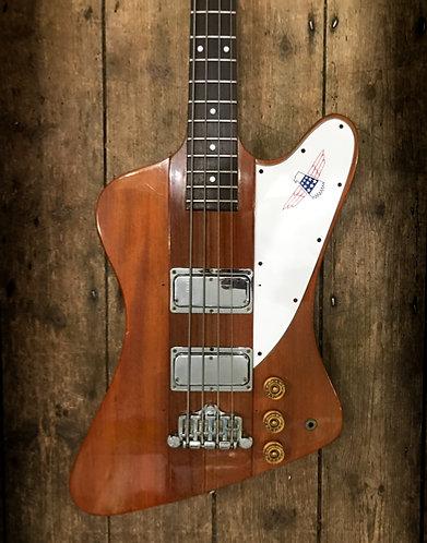 1979 Gibson Thunderbird Bass in Natural finish