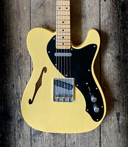 2005 Fender Custom Shop Thinline Telecaster in Blonde finish