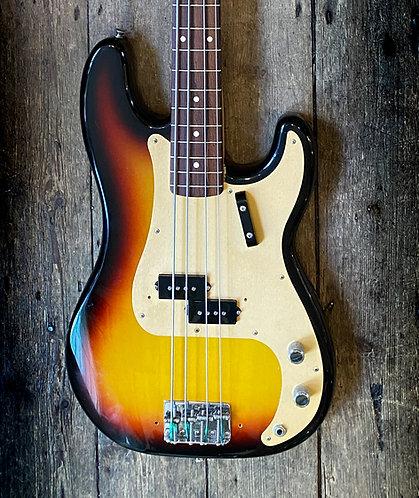 2005 Fender Custom Shop '59 RI Precision Bass in Sunburst finish