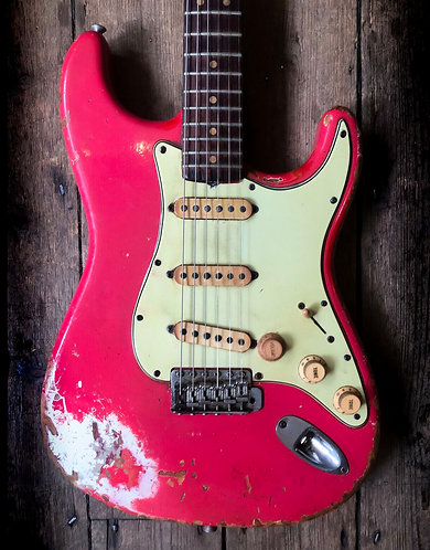 1964 Fender Stratocaster in Fiesta Red