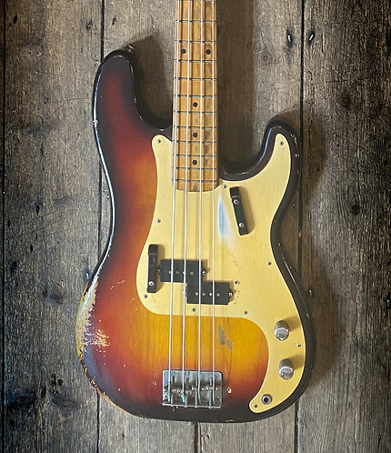 1959 Fender Precision bass in Sunburst finish