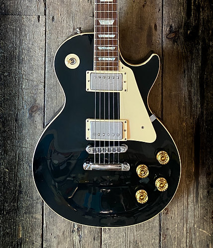 1993 Gibson Les Paul Standard in black finish