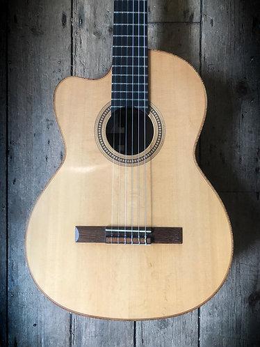 2001 Lowden #353 Classic Cutaway Brazilian left handed acoustic