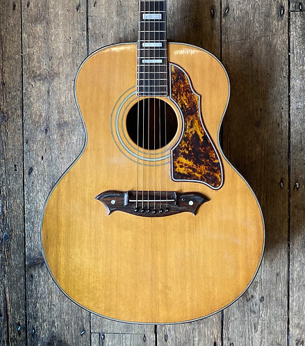 60's Knight Jumbo Acoustic Natural finish
