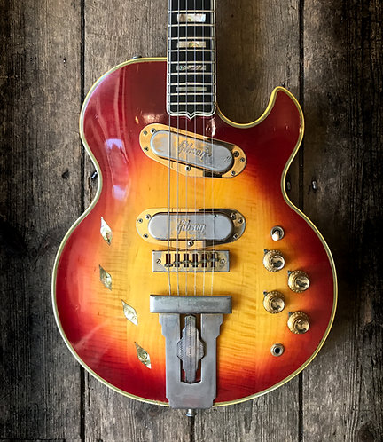 1973 Gibson L5S Custom in Cherry sunburst
