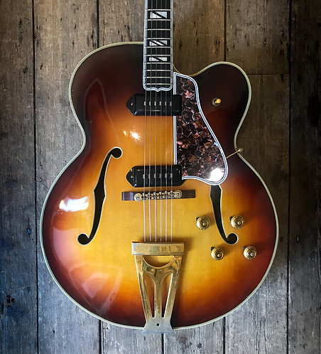 1956 Gibson Super 400 CES Antique Sunburst finish