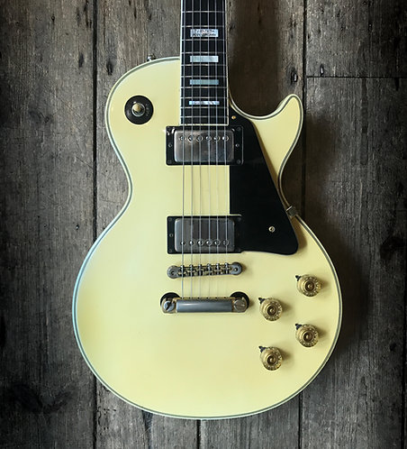 1974 Gibson Les Paul Custom 20th anniversary in Ivory White