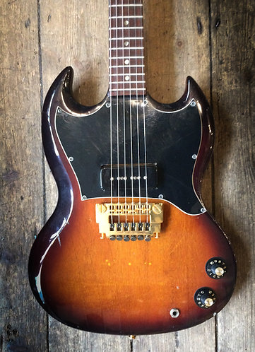 Late 1960's Gibson SG Junior Refinished in Sunburst