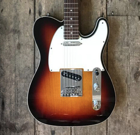 2011 Fender American Deluxe Telecaster in Sunburst finish