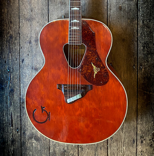 1957 Gretsch 'Rancher' Acoustic in Western Orange