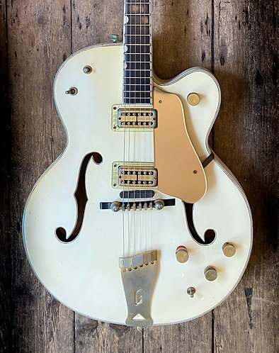 1961 Gretsch Thinline Country Club in White finish