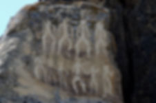 Neolithic rock paintings of Gobustan, de