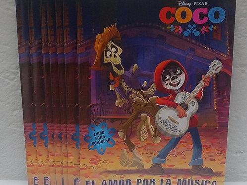 10 Libros para colorear de Coco Disney