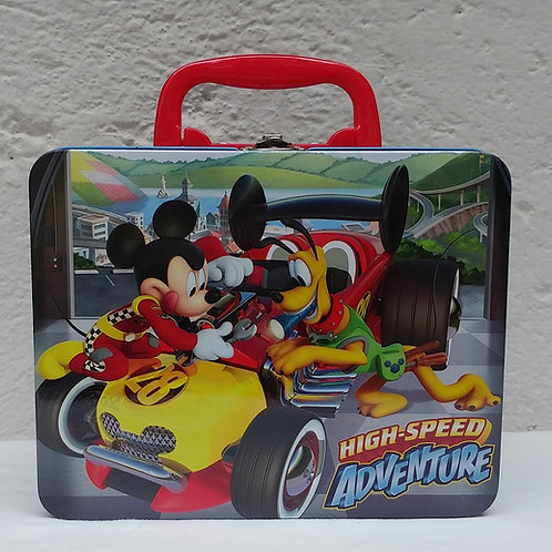 Lonchera metalica Mickey Mouse