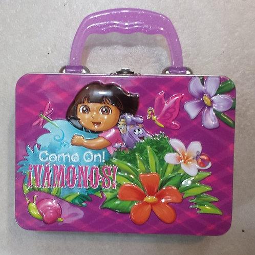Mini  Lonchera metalica Dora la Exploradora